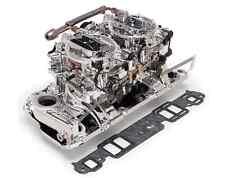 Edelbrock 20254 Dual-Quad Manifold & Carb Kit for Small/Big Block Chevy