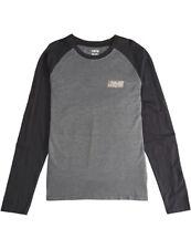 Billabong Super 8 Long Sleeve T-Shirt in Black