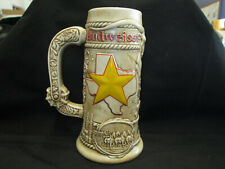"Ceramante Brazil Budweiser Anheuser-Busch Limited Edition Texas Stein Mug 8.25"""