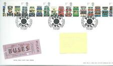 wbc. - GB - FIRST DAY COVER - FDC - 2001 - COMMEMORATIVES - BUSES - push once