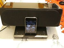 Sony SRS-GU10iP Dock Speaker System For iPod and iPhone Remote Control RM-AS1iP