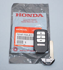 NEW OEM 15 16 HONDA CR-V SMART KEY PROXIMITY KEYLESS REMOTE FOB 72147-T0A-A11