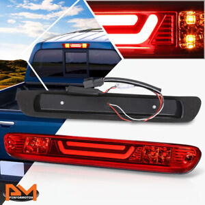 For 04-12 Colorado/Canyon 3D LED Bar 3RD Tail Brake Light W/Cargo Lamp Bar Red