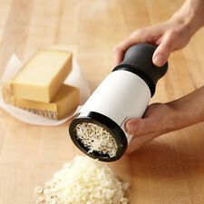 Kitchen 2 Blades Cheese Grater Chocolate Mill Parmesan Crumbly Manual Grind Hand