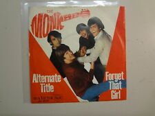 """MONKEES:Alternate Title(Randy Scouse Git)-Forget That Girl-Germany 7"""" 67 RCA PSL"""