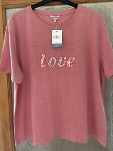 Cath Kidston T Shirt Size L New With Tags
