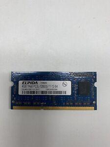 ELPIDA EBJ40UG8BBU0-GN-F 4GB PC3L-12800S DDR3-1600 1600MHz Laptop RAM HP9470m