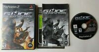 G.I. JOE: The Rise Of Cobra PlayStation 2 PS2 Complete Game CIB Tested Works