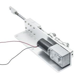DIY Reciprocating Motor 12/24V Stroke 8~470RPM 30/50/70mm DC Worm Gear Motor