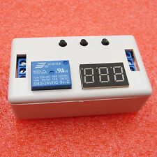 24V LED Delay Timer Control Switch Automation Relay Module with case