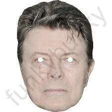 David Bowie Singer Card Face Mask - All Our Masks Are Pre-Cut!