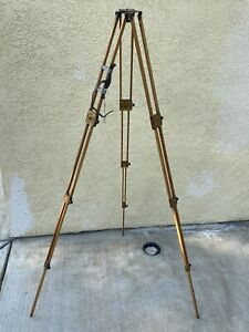 Eastman Kodak 1899 Folding Head Wooden Tripod - RARE