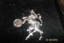 silverplate unicorn christmas ORNAMENT KIRK STIEFE 1984 AMERICAN HERITAGE COLLEC