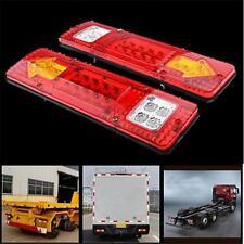 1X 19 LED Trailer Truck RV ATV Turn Signal Running Tail Light White-Amber-Red I2