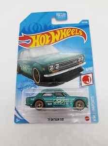 Hot Wheels 2021 Super Treasure Hunt '71 Datsun 510 US Card