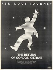 8/10/1977Pg9 Album Advert 15x10 Gordon Giltrap, Perilous Journey