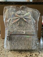 Loungefly x LA Style Rush LASR Disney Minnie Holographic Sequin Mini Backpack