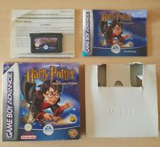 NINTENDO GAME BOY ADVANCE - HARRY POTTER AND THE PHILOSOPHERS STONE COMPLETE CIB
