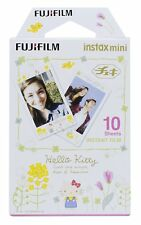 FUJIFILM Instant Camera Cheki Film 10 pieces Hello Kitty Simple Japan Import