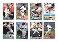 1994 TOPPS MLB BASEBALL DETROIT TIGERS TEAM SET (28) TRAMMELL,GIBSON,WELLS,DAVIS