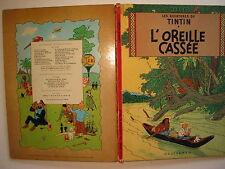 LES AVENTURES DE TINTIN L'OREILLE CASSEE DE 1947