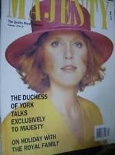 Majesty Magazine Volume 12 #10 Sarah Interview, Royal Holiday, Diana's Style
