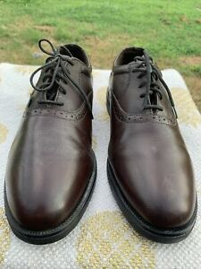 Red Wings 9385 Dunoon Men's Size 9 D Brown Leather Oxfords Comfort Shoes USA