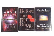 Lot (3) Before the Beginning Big Bang Origins Universe Whole Shebang (Ferris)