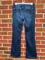 Joes Jeans Honey Womens Denim Blue Jeans Size 27 Boot Cut Dark Wash Pants