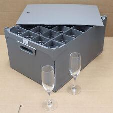 Schott Zwiesel Mondial Champagne Flutes + Storage Tray (Set of 24)