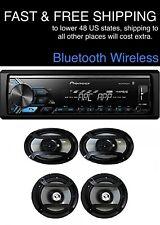 "*FREE SHIPPING* New PIONEER DIGITAL MEDIA Bluetooth (6"" by 9"") (6.5"") 4 Speakers"