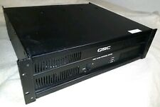 New listing Qsc Isa 500Ti 260W 70V Isa Series Stereo Power Amplifier. Used.