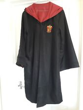 HARRY POTTER GRYFFINDOR ROBES EXC CON, SIZE 12 ADULT OR CHILD SIZE AGE APPROX 14