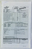 2010 ABC NO ORDINARY FAMILY set used CALL SHEET, Season 1 Episode 8