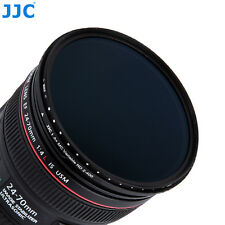 JJC 72mm ND2-ND400 Variable Neutral Density(ND) Filter W/a Dedicated Filter Case
