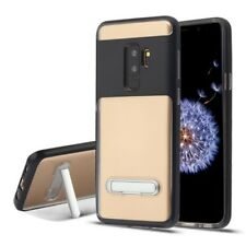 Black/Transparent Clear Hybrid Protector Cover (with Magnetic Metal St