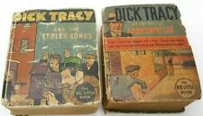 Vintage Big Little Books Dick Tracy *Lot of 2* 1934-35 Gd-