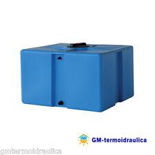 Serbatoio Acqua Cisterna Polietilene Giurgola 500 Lt Parallelepipedo Orizzontale