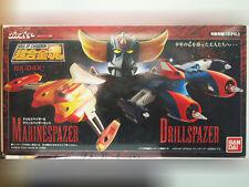 GX-04X Bandai Soul of Chogokin DRILL MARINE SPAZER Set UFO Robo Grendizer New