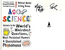 Mitchell Moffit & Greg Brown~SIGNED 2X~AsapSCIENCE~1st Edition/1st Printing