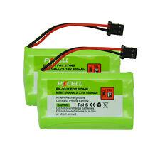 2 Cordless Phone Battery 3.6V 800mAh NiMH For Uniden BT446 BT-1005 ER-P512