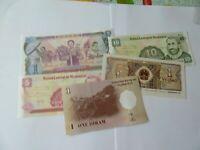 5 banconote  rif  x69