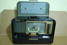 vintage Zenith Trans-Oceanic H500 Tube Shortwave Radio World-Band Receiver