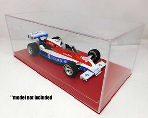 1:18 scale Replicarz Display Case red base (12.5 x 6.25 x 5.5) RC18R