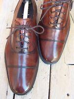 COLE HAAN NIKE AIR Mens Dress Shoes Mahogany Cap Toe Oxford Casual Sz Size 8.5M