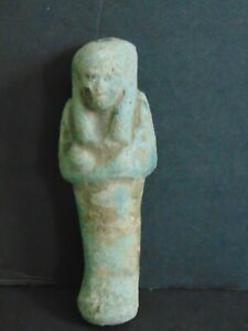ANCIENT EGYPTIAN USHABTI FUNERARY FIGURE - TOMB STATUE