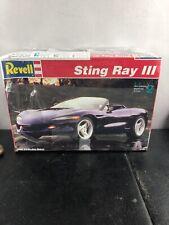 Revell Corvette Sting Ray 3 1993 Plastic Model Kit 1:25 Scale Brand New Sealed
