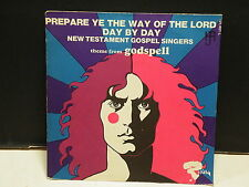 NEW TESTAMENT GOSPEL SINGERS Theme from GODSPELL Prepare ye the way 121401l