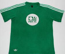 WEST GERMANY 74 ADIDAS ORIGINALS FOOTBALL SHIRT (SIZE M)