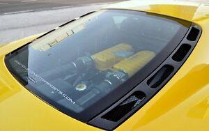 NEW Ferrari 360 Modena F360 Carbon Fiber Challenge Rear Window Louvers